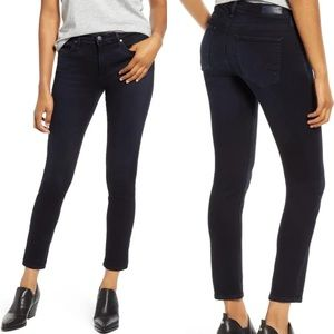 AG Prima Ankle Cigarette Jeans Size 29 R Dark Blue
